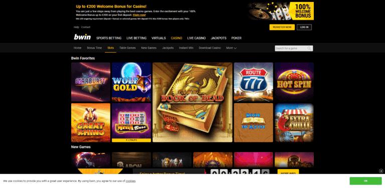 Bwin Casino Screenshot 2