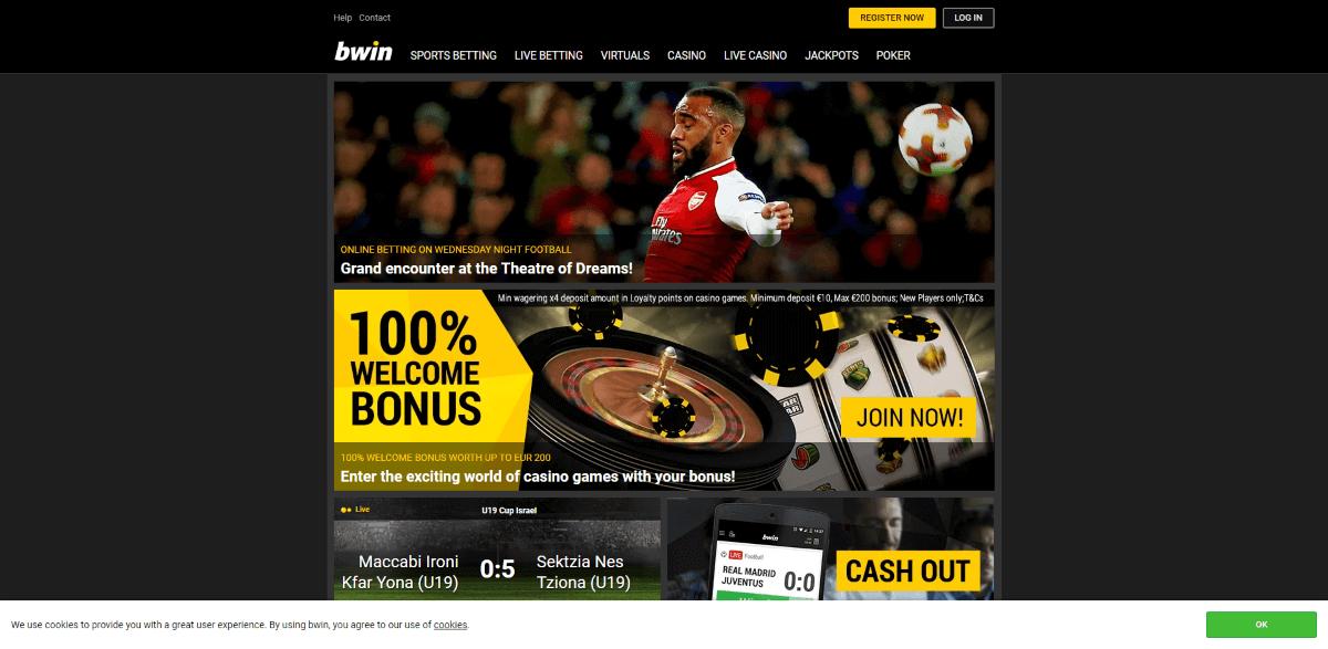 Bwin Casino Screenshot 1