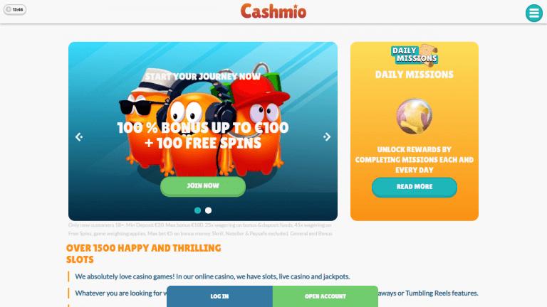 Cashmio Screenshot 1