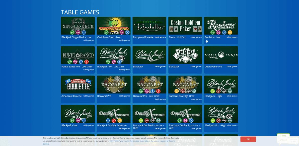 Eskimo Casino Screenshot 3