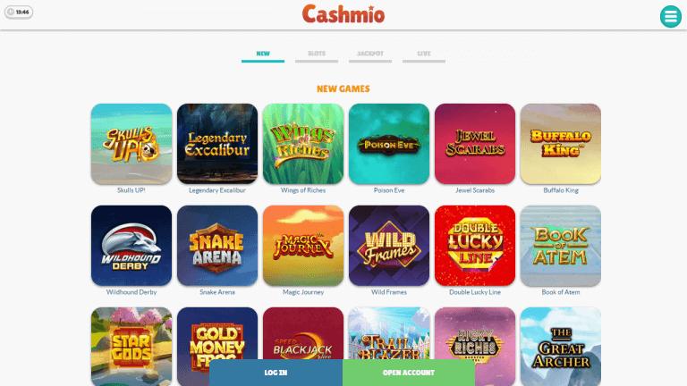Cashmio Screenshot 2