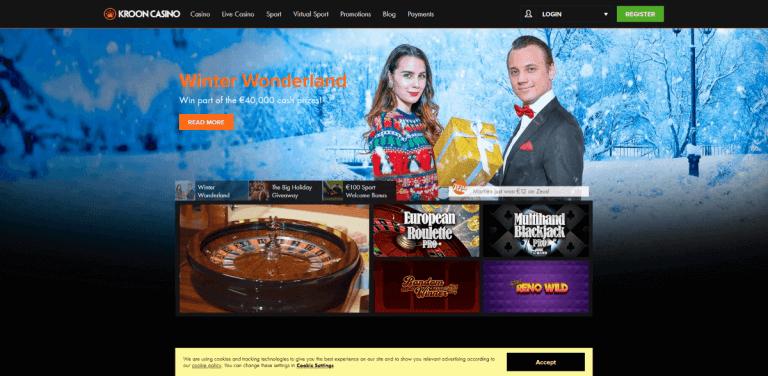 Kroon Casino Screenshot 1