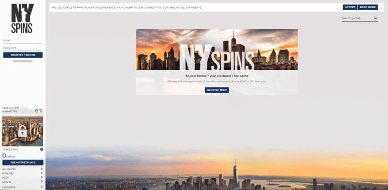 NYSpins Screenshot 3