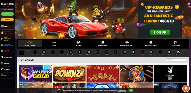 PlayAmo Screenshot 1