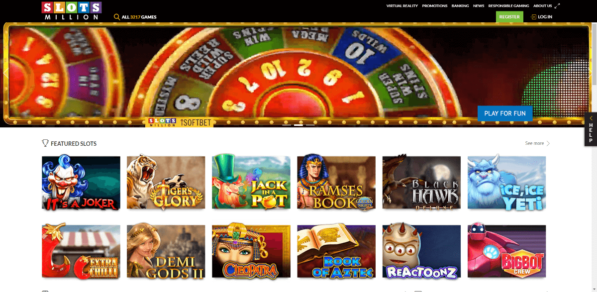 Slots Million Screenshot 1