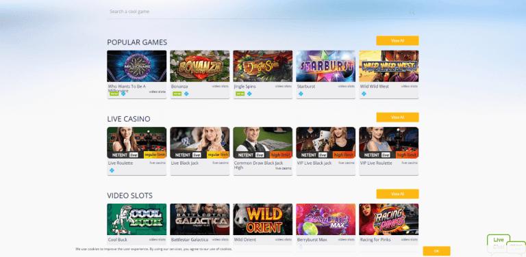 Turbo Casino Screenshot 2