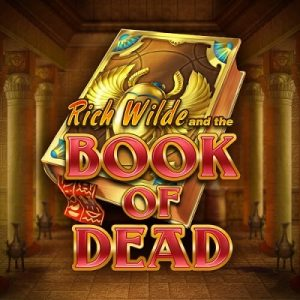 Book Of Dead logo achtergrond