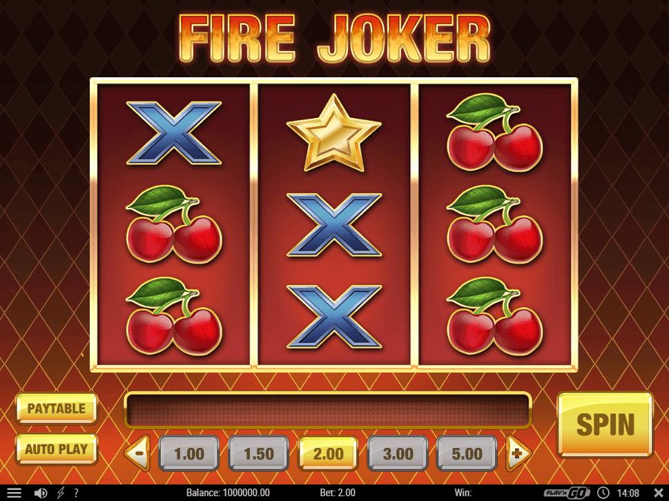 Fire Joker Gratis Spins