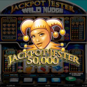 Jackpot Jester 50.000 logo achtergrond