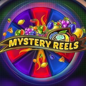 Mystery Reels logo achtergrond
