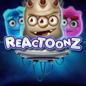 Reactoonz logo achtergrond