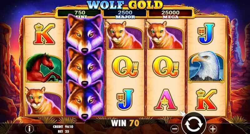 wolf gold screenshot afbeelding