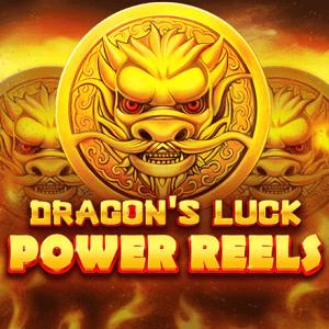 Dragon's Luck Power Reels logo achtergrond
