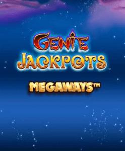 Genie Jackpot Megaways logo achtergrond