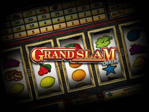 Grand Slam Deluxe logo achtergrond