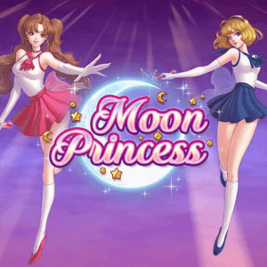 Moon Princess logo achtergrond
