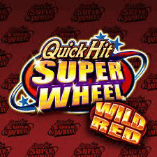 Quick Hit Super Wheel Wild Red logo achtergrond