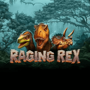 Raging Rex logo review