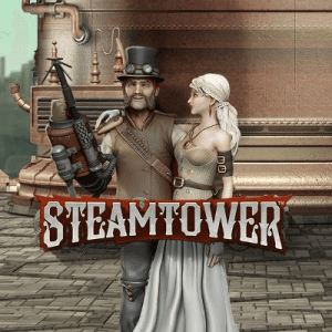 Steam Tower logo review