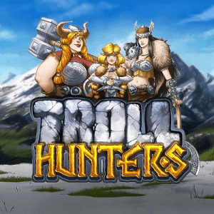 Troll Hunters logo review