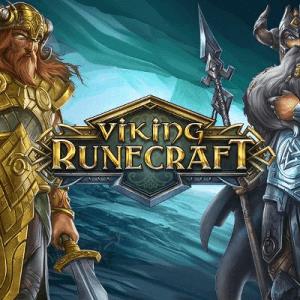 Viking Runecraft logo achtergrond