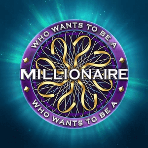 Who Wants To Be A Millionaire logo achtergrond