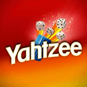 Yahtzee logo achtergrond