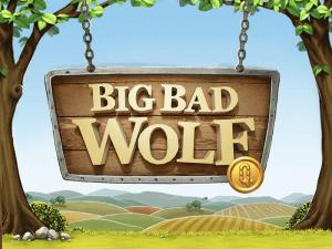 Big Bad Wolf logo achtergrond