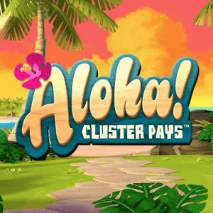 Aloha! Cluster Pays logo achtergrond