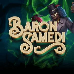 Baron Samedi logo achtergrond