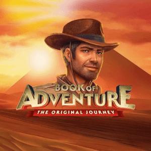 Book of Adventure logo achtergrond