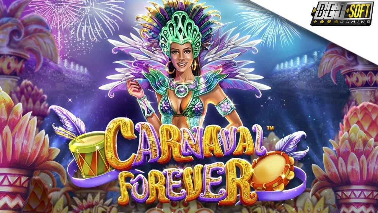 Waan jezelf in het Braziliaanse Carnaval met Betsoft!