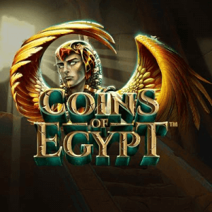 Coins Of Egypt logo achtergrond