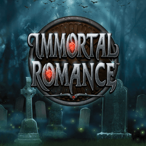 Immortal Romance side logo review