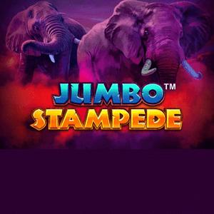 Jumbo Stampede logo achtergrond