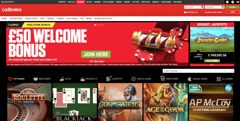 Ladbrokes Screenshot 1