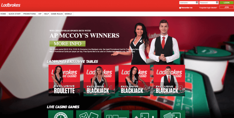 Ladbrokes Screenshot 3