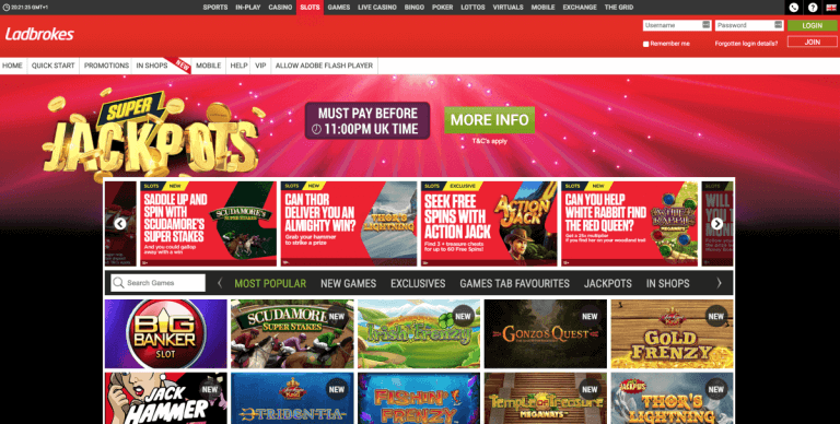 Ladbrokes Screenshot 2