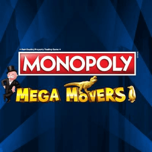 Monopoly Mega Movers logo achtergrond