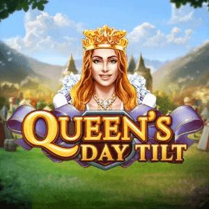 Queen's Day Tilt logo achtergrond