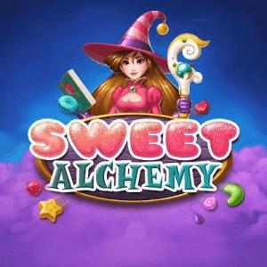 Sweet Alchemy logo achtergrond