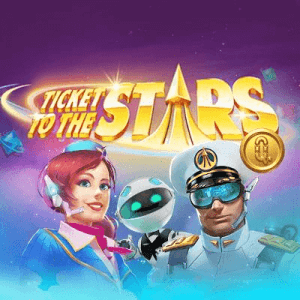 Ticket To The Stars logo achtergrond