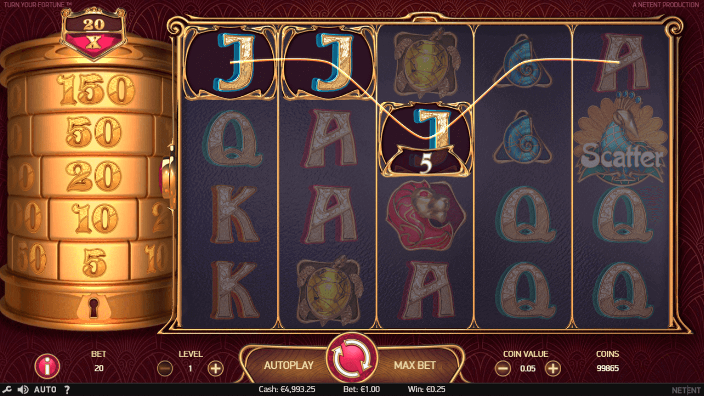 Turn Your Fortune Gratis Spins
