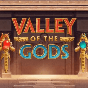 Valley Of The Gods logo achtergrond