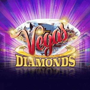 Vegas Diamonds logo achtergrond
