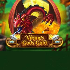 Viking's Gods Gold logo achtergrond