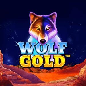 Wolf Gold logo achtergrond