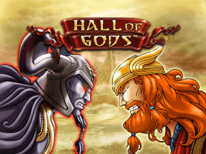 Hall of Gods side logo review