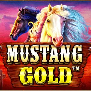 Mustang Gold logo achtergrond