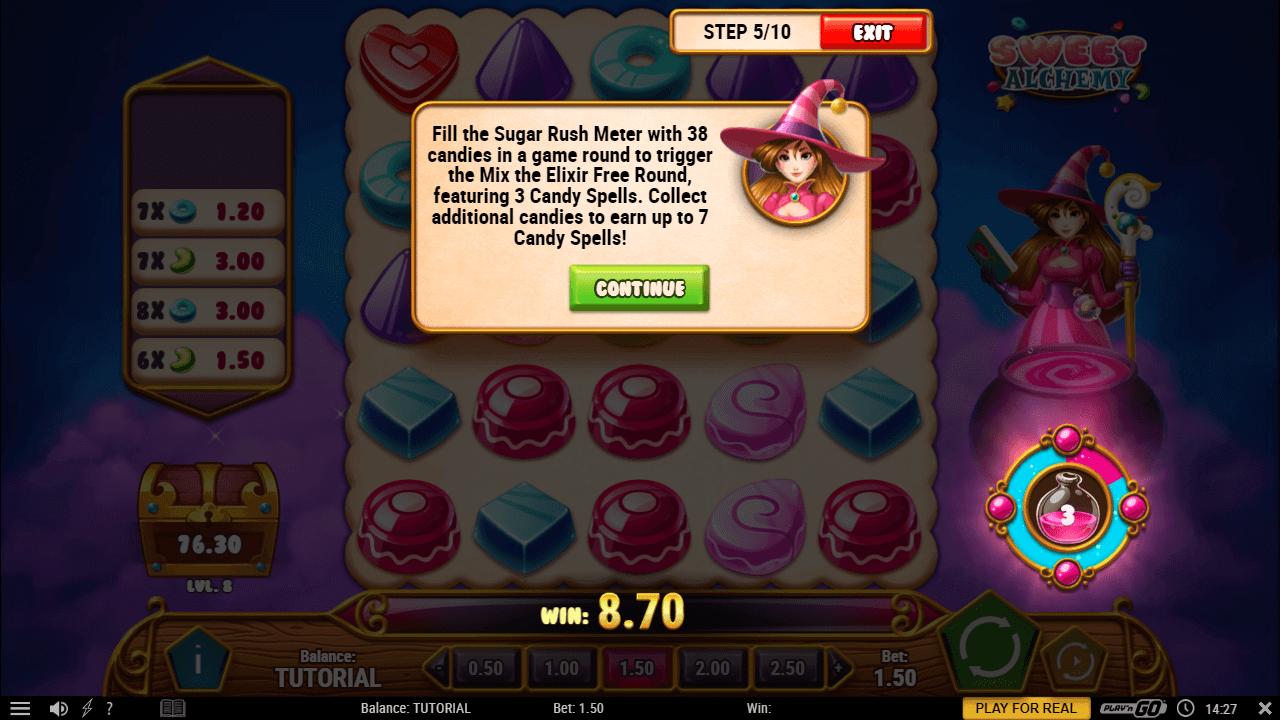 Sweet Alchemy Bonus